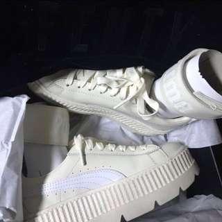 🚚 FENTY PUMA BY RIHANNA ANKLE STRAP SNEAKER 白色腳環腳踝帶厚底鞋sneakers