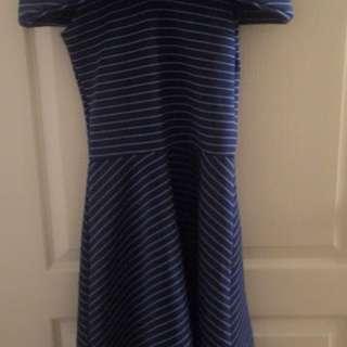 Unbranded off-shoulder neoprene dress