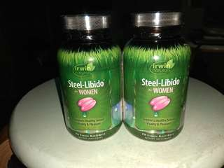 (Irwin natural)Steel-Libido for women x2
