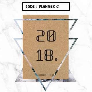 Mini Planner Handmade
