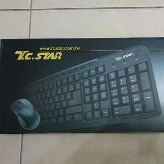 T.C.STAR鍵盤+滑鼠