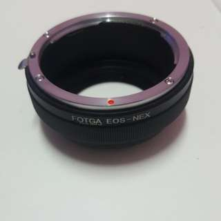 Fotga Adapter Canon to Sony E Mount lens