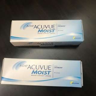 1 day ACUVUE Moist contact len - 強生1 day 每日拋棄型隱形眼鏡