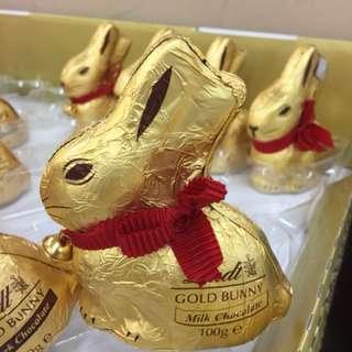 復活節 巧克力金兔 100g