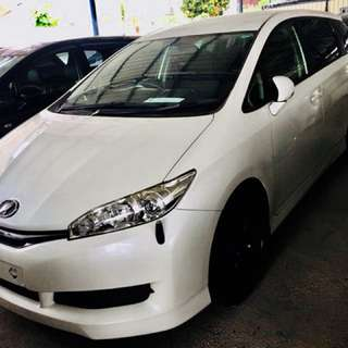 TOYOTA WISH 1.8 2013 Recond Unregistered