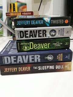 Jeffery Deaver books