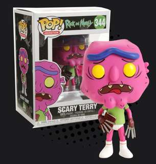 FUNKO POP - RICK AND MORTY - SCARY TERRY NO PANTS