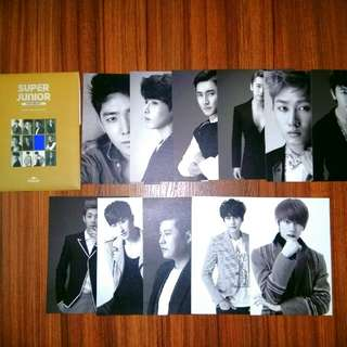 SMTOWN Week Super Junior Postcard Set