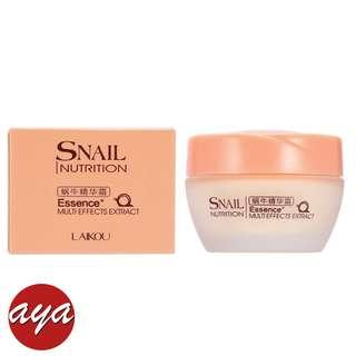 LAIKOU Face Care Essence Nutrition Snail Cream Moisturizing Anti-Aging Cream