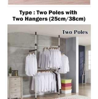 Pole hanger (38cm)