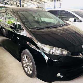 TOYOTA WISH 1.8 Monotone 2012 Recond Unregistered