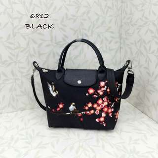 Longchamp Sakura Black