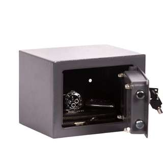 Brihard Junior Electronic Safe - 17x23x17 (HxWxD); cm- Electronic Combination Lock