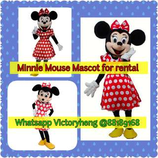 Minnie Mouse Mascot for rental