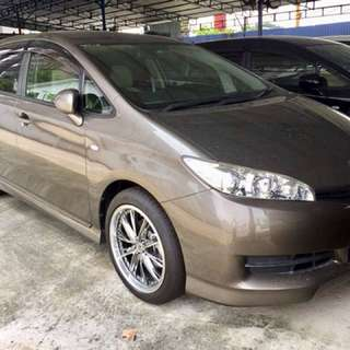TOYOTA WISH 1.8 Xpack Recond Unregistered