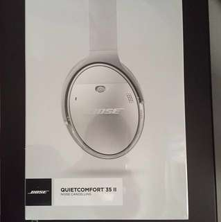 Bose QuietComfort 35 Series ll Silver (Brand New Sealed)