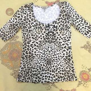 Bershka leopard