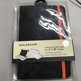"Moleskine Ipad tablets 7""-8"" cover"