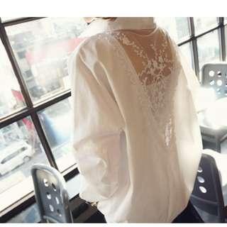 #A32春款lace恤衫