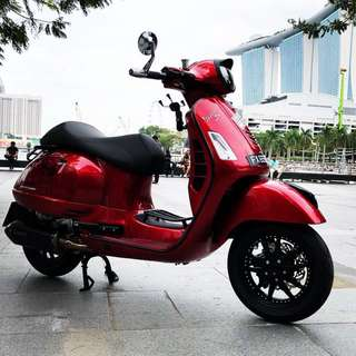 Vespa GT200L 295cc (Not for newbies)