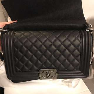 Boy Chanel Calfskin Medium Size PHW