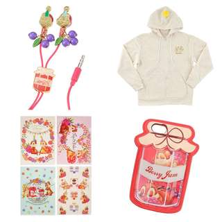 PO Japan Disney happy chip n dale jacket, file folder, eat piece