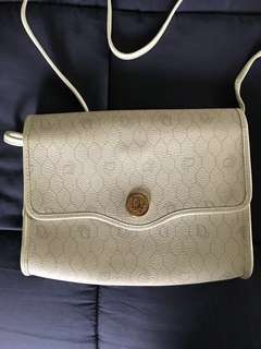 Vintage Christian Dior crossbody bag