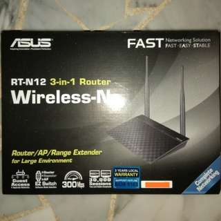 Asus Router RT - N12