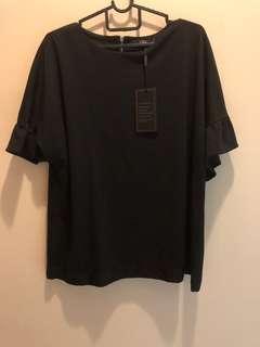 Plus size brand new black top