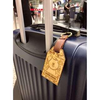 木製行李牌