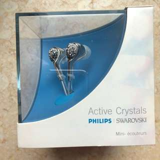 PHILIPS SWAROVSKI Crystals in ear Headphone