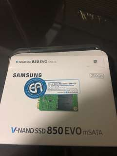 Samsung mSATA SSD 250GB and zif adapter