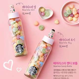 [PO] Starbucks Bearista Candy Bottle