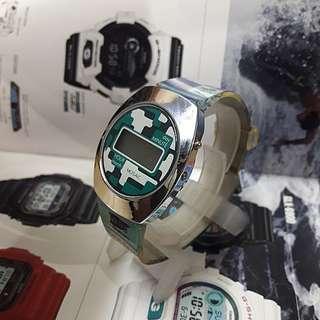 Mosaic  digital watch