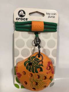 Crocs key coin purse