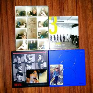 Preloved Super Junior Albums
