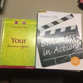 Business 101 textbooks