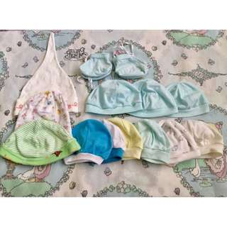 Babies Bonnets and Booties