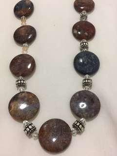 Jasper Stones Necklace