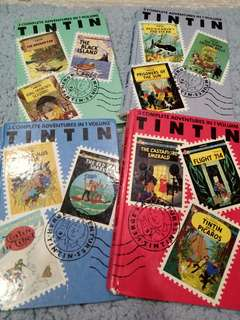 Tin Tin adventure comics