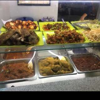 Nasi Padang Stall For Rent