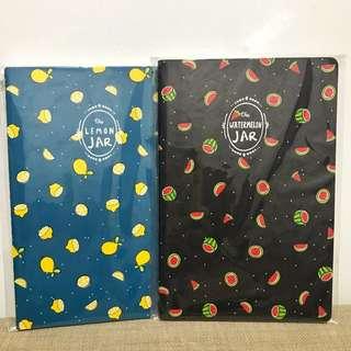 Fruity design notebook