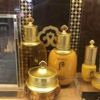 The history of Whoo skin care