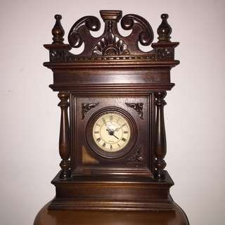 Vintage Clock wooden