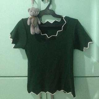 Korean blouse croptop