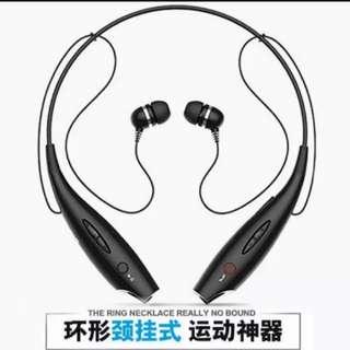 (4件/4pieces) 掛頸式藍牙耳機 (有色) (唯多推廣系列) (包Buyup自取站取貨) (bluetooth headset)
