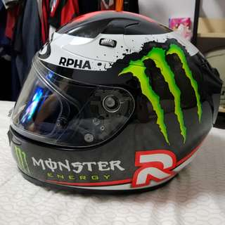 HJC RPHA 10 Plus Full Carbon Jorge Lorenzo