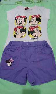 Terno Minnie mouse