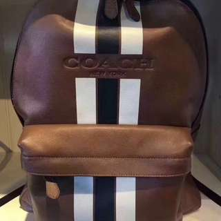 Original coach men backpack school bag computer bag