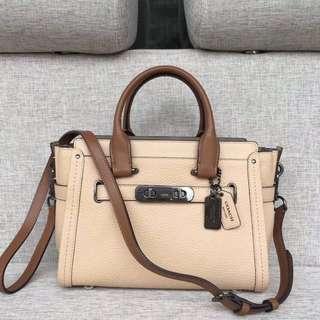 Original coach women swagger handbag sling bag crossbody handbag